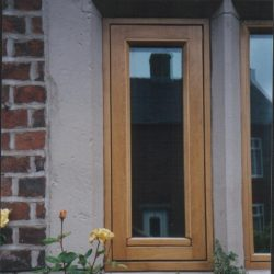 311 - Flush fitting oak casement